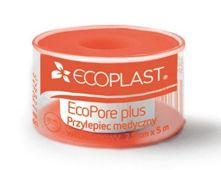 Ecoplast Przylepiec opatrunkowy włókninowy EcoPore Plus na szpuli 2,5cm x 5m