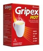 GRIPEX Hot x 8 saszetek