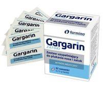 Gargarin zestaw uzupełniający do płukania nosa i zatok x 32 saszetki