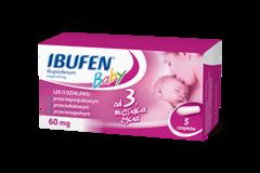 Ibufen Baby 60mg x 5 czopków