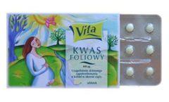 KWAS FOLIOWY 400mcg x 30 tabletek