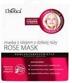 L'Biotica Rose Maska z olejem z dzikiej róży 23ml