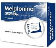 Melatonina Extra B6 x 30 kapsułek