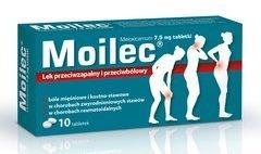 Moilec 7,5mg x 10 tabletek