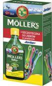 Moller's Baby+ Tran Norweski Cytrynowy 250ml + szczoteczka Jordan Gratis!