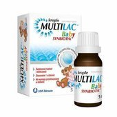 Multilac Baby Synbiotyk krople 5ml