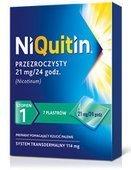 NIQUITIN 1 - plastry 21mg/24h x 7 sztuk
