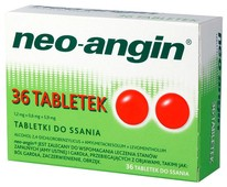 Neo-Angin x 36 tabletek do ssania