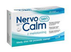 NervoCalm Sen z melatoniną x 20 tabletek - data ważności 31-10-2019