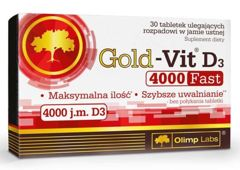 OLIMP Gold-Vit D3 4000 Fast x 30 tabletek