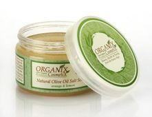 ORGANICZNY scrub solny z oliwą z oliwek 250ml
