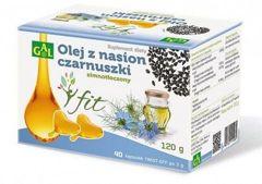 Olej z nasion czarnuszki FIT x 40 kapsułek twist-off