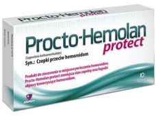 PROCTO-HEMOLAN Protect x 10 czopków