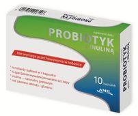 Probiotyk z inuliną x 10 kapsułek