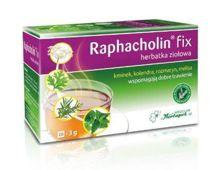 Raphacholin fix herbatka ziołowa na dobre trawienie 3g x 20 saszetek