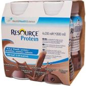 Resource Protein smak czekoladowy 200ml x 4 sztuki