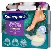 SALVEQUICK Foot Care Na pęcherze i otarcia Mix x 10 sztuk