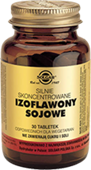 SOLGAR Izoflawony Sojowe silnie skoncentrowane x 30 tabletek