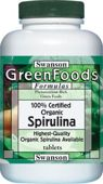 SWANSON 100% Certyfikowana Spirulina organiczna 500mg x 180 tabletek