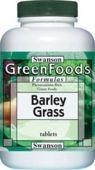 SWANSON Barley Grass - sproszkowany sok z młodej trawy jęczmienia 500mg x 240 tabletek - data ważności 31-05-2019