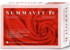 Summavit Fe x 30 kapsułek