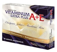 VITAMINUM A+E EXTRA PLUS x 30 tabletek