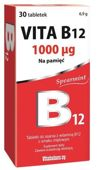 Vita B12 1000mcg x 30 tabletek do ssania