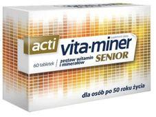 Vita-miner Senior x 60 drażetek
