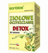 Ziołowe oczyszczanie Detox x 60 tabletek