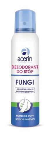 ACERIN Dezodorant do stóp fungi 150ml