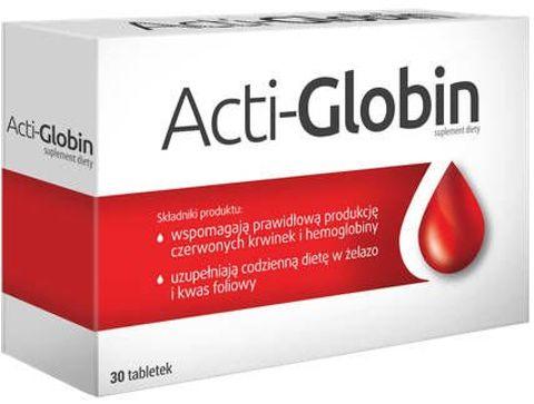 ACTI-GLOBIN x 30 tabletek