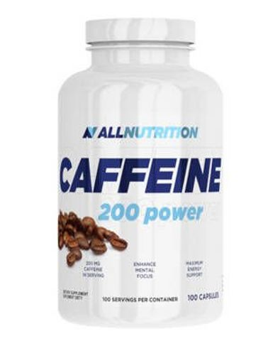 ALLNUTRITION Caffeine 200 power x 100 kapsułek