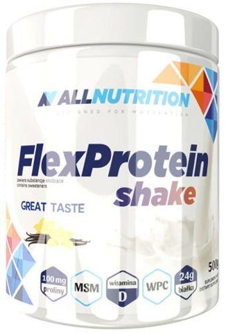 ALLNUTRITION FlexProtein Shake Vanilla 500g - data ważności 30-06-2019