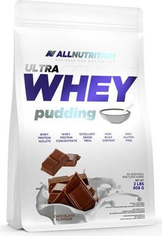 ALLNUTRITION Ultra Whey Pudding Chocolate 908g