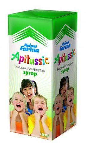 APITUSSIC syrop 120ml