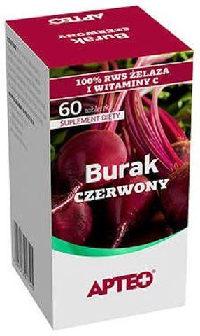 APTEO Burak czerwony x 60 tabletek