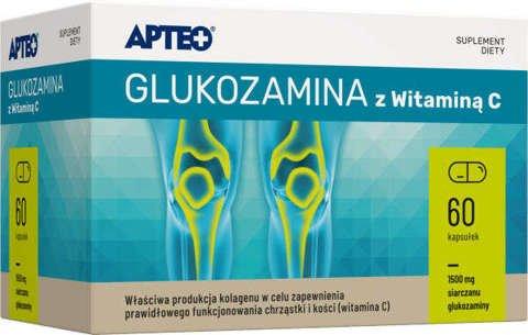 APTEO Glukozamina z witaminą C x 60 kapsułek