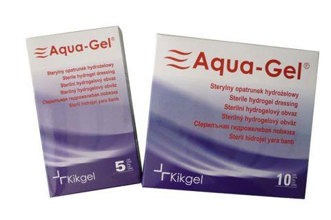 AQUA-GEL Opatrunek hydrożelowy 10 x 10cm x 1szt.