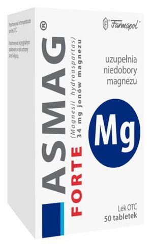 ASMAG Forte x 50 tabletek