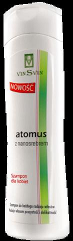 ATOMUS Szampon z nanosrebrem dla kobiet 200ml