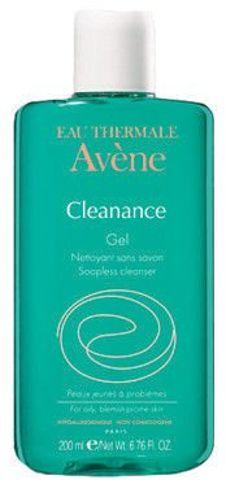 AVENE Cleanance Żel oczyszczający do twarzy i ciała 200ml+100ml gratis!