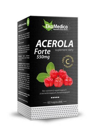 Acerola Forte 550mg x 60 kapsułek
