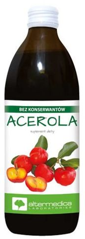 Acerola płyn 500ml