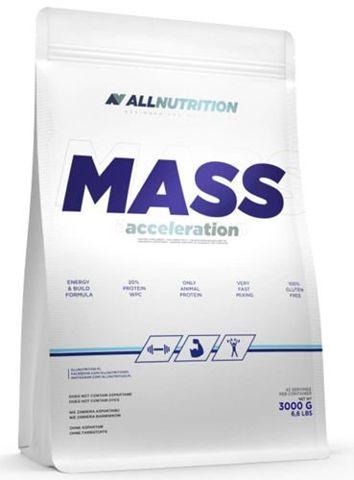 Allnutrition Mass Acceleration strawberry-banana 3000g