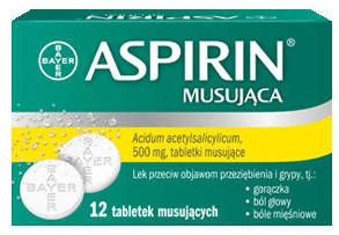Aspirin Musująca (Ultra Fast) x 12 tabletek musujących