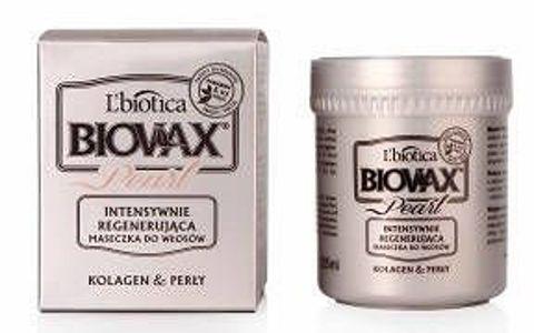 BIOVAX Glamour Pearl kolagen i perły maseczka do wszystkich rodzajów włosów 125ml