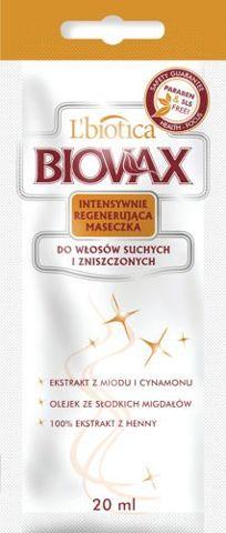 BIOVAX Maseczka do włosów suchych i zniszczonych 20ml x 1 saszetka