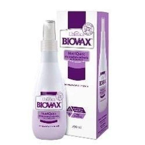 BIOVAX Odżywka bez spłukiwania do włosów ciemnych 200ml