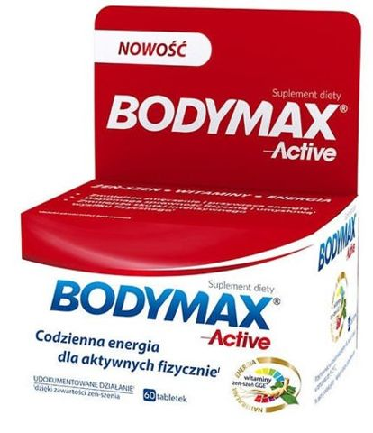 Bodymax Active x 60 tabletek