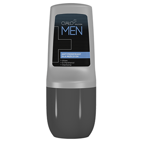CIAŁO+ Solutions MEN Antyperspirant roll-on 50ml